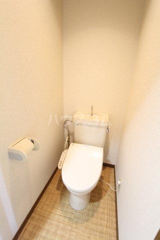 ラルーチェ若宮 203号室のトイレ