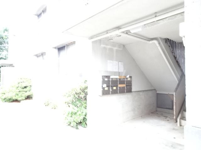 永覚コーポ 104号室のエントランス