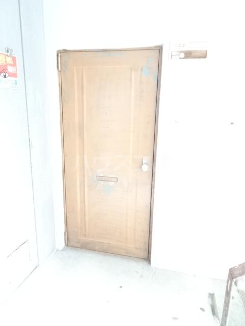 永覚コーポ 104号室の玄関