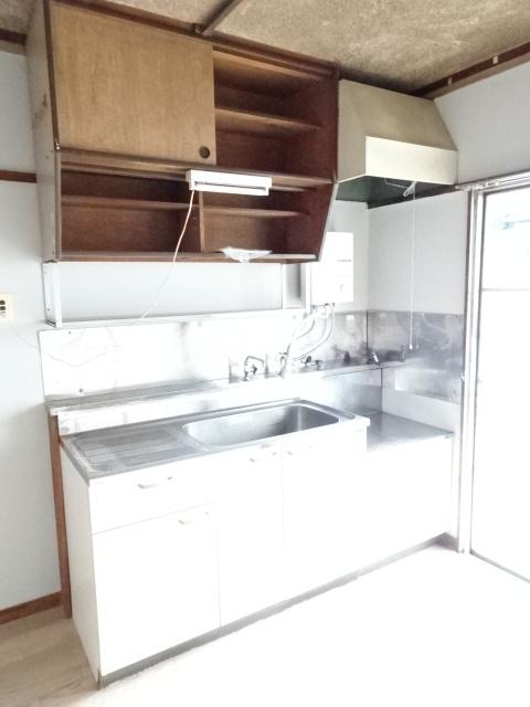 永覚コーポ 104号室のキッチン