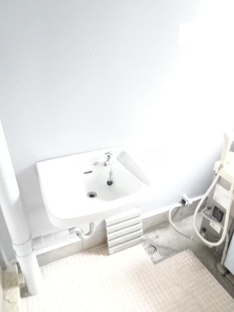 永覚コーポ 104号室の洗面所