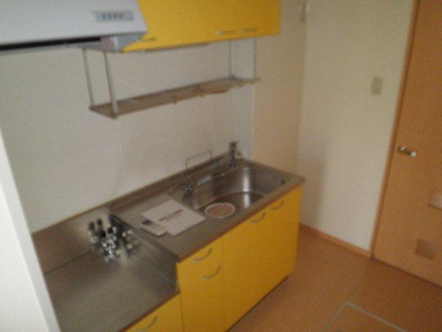 サザンクロス 105号室のキッチン