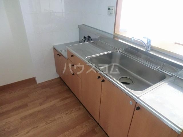 アメニティーB 202号室のキッチン