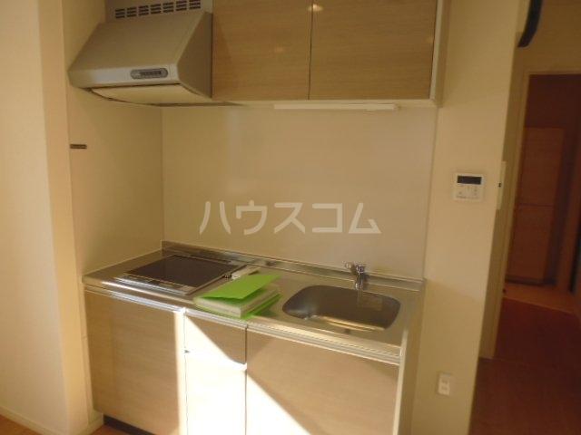 (仮)本町3丁目計画 201号室のキッチン