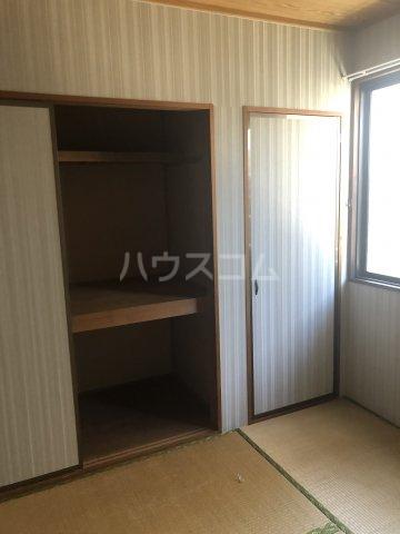 セジュール今斉 A棟 101号室の収納