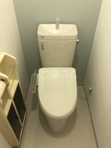 セジュール今斉 A棟 101号室のトイレ
