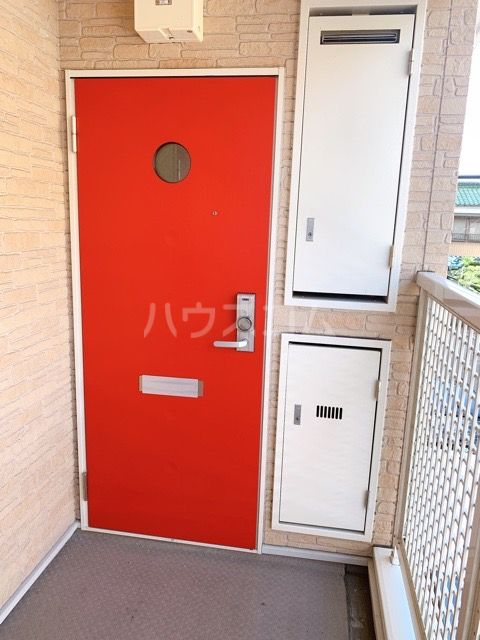ASUKA 205号室の玄関