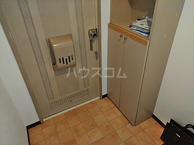 レジダンスカルム 201号室の玄関