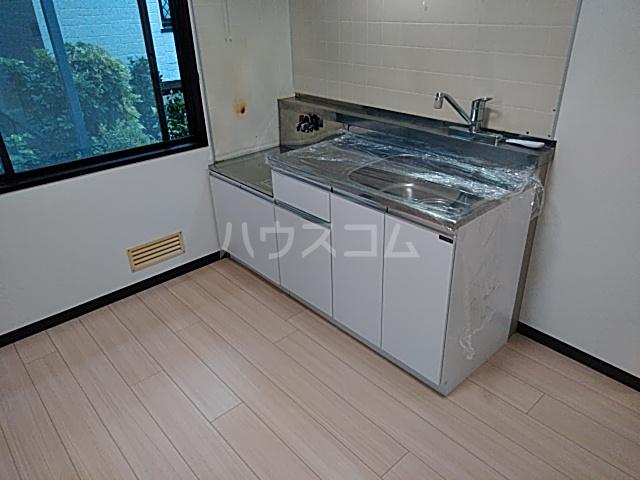 レジダンスカルム 201号室のキッチン