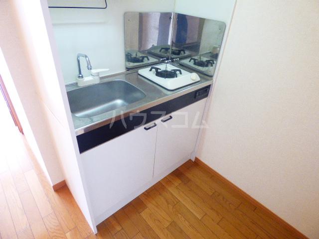 ベリーノ 205号室のキッチン