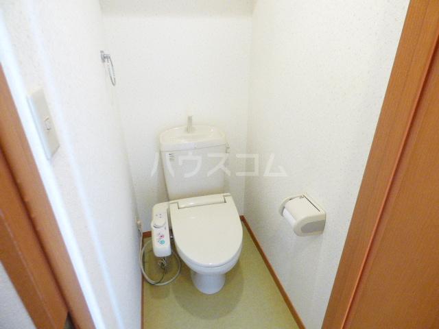 ベリーノ 205号室のトイレ