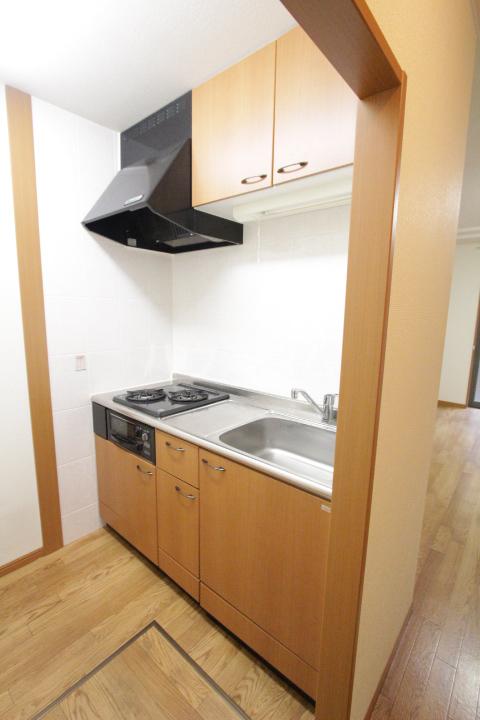 エバーハイツA 105号室のキッチン