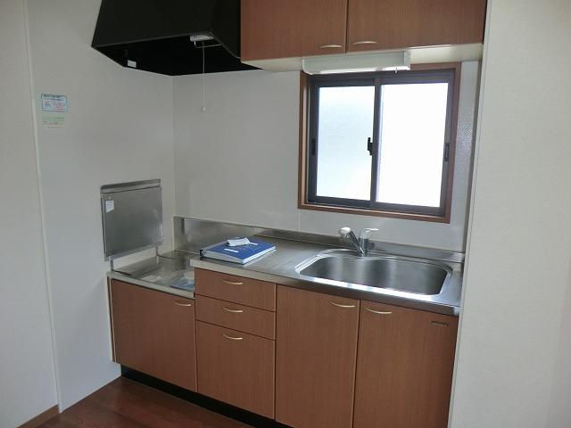 ジュネス美彩 102号室のキッチン