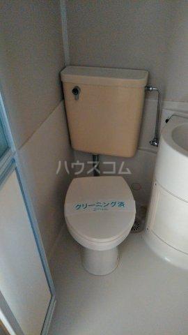 ぷちさがみ 202号室のトイレ