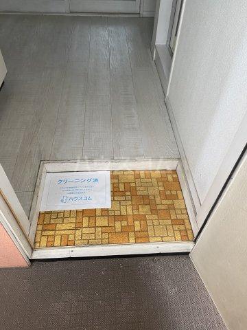 石川ハイツ 203号室の玄関