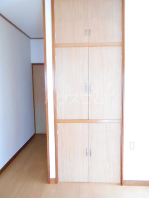 第七秀月荘 201号室の収納