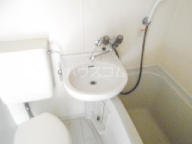 メゾンラフィット 403号室の洗面所