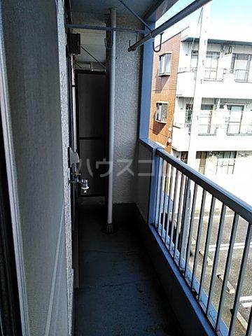 忠生ハイツ 202号室のバルコニー