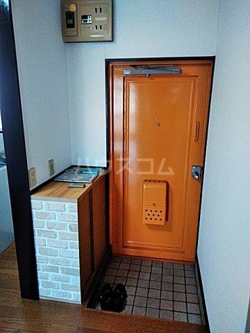 忠生ハイツ 202号室の玄関