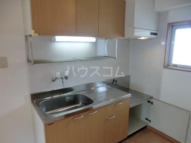 築山コーポ 403号室のキッチン
