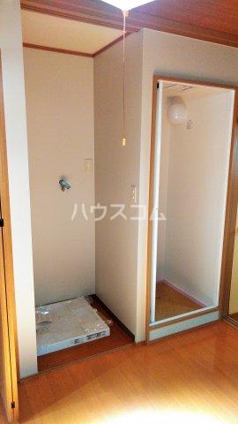 さつき荘 A号室の玄関