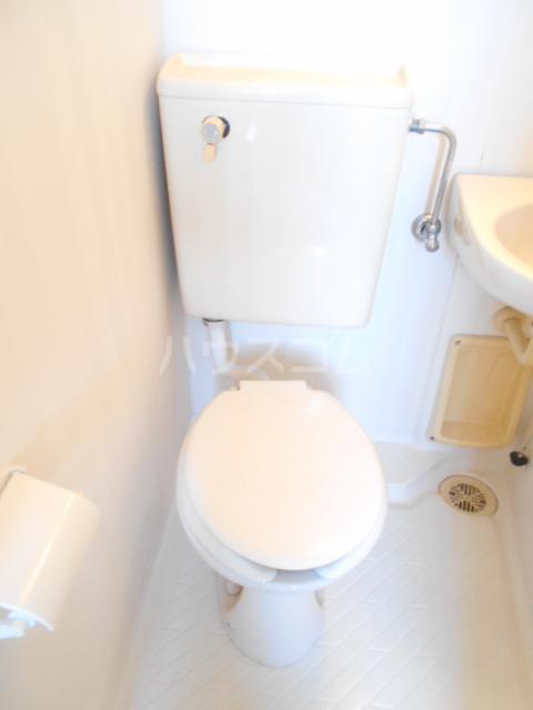 ホワイトハイム1号棟 202号室のトイレ