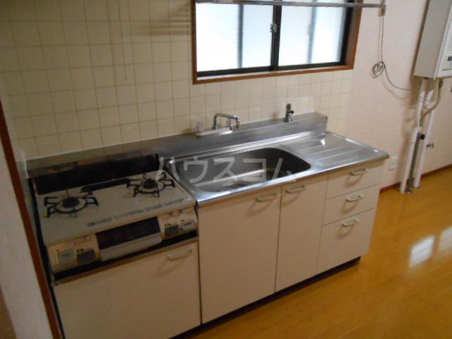 マンション築山(第2) 201号室のキッチン
