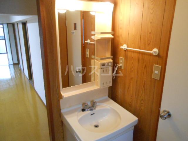 マンション築山(第2) 201号室の洗面所