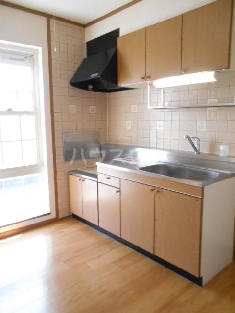 ソレアード二番館 02030号室のキッチン