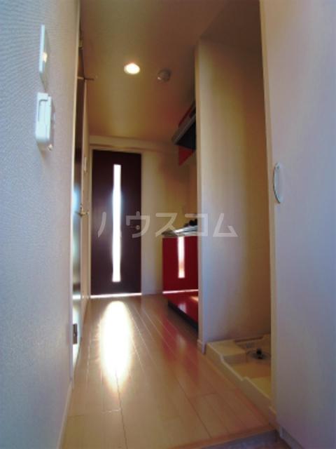 リブリ・パルテール 102号室の玄関