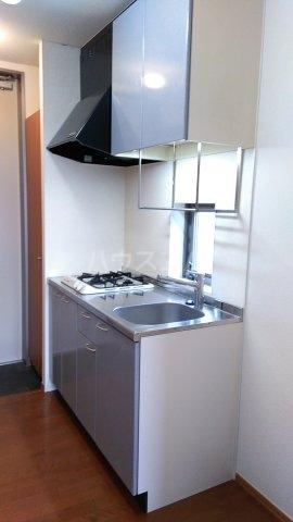 オメガパレス9丁目 203号室のキッチン
