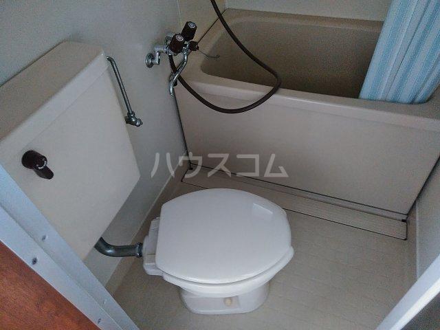 ハイム茜台 203号室のトイレ