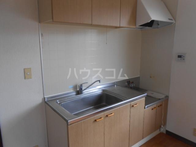 フレグランス飯島B棟 201号室のキッチン