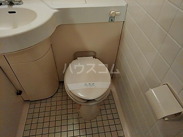 ベイハウス 202号室のトイレ