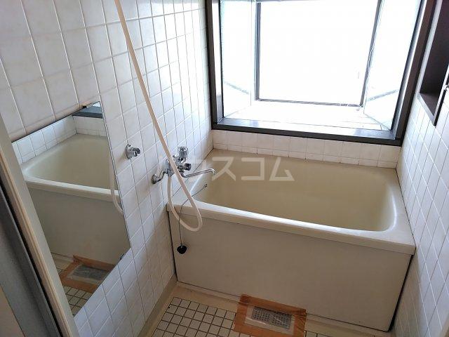 ヴィラ新磯野 201号室の風呂