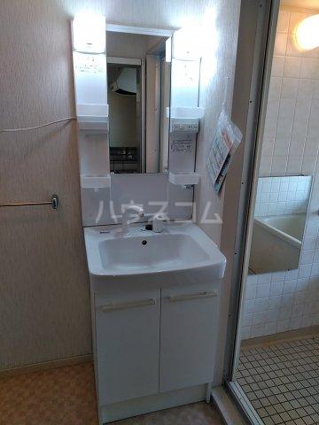 ヴィラ新磯野 201号室の洗面所