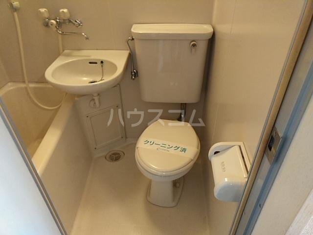 タウニィ相模台 205号室のトイレ
