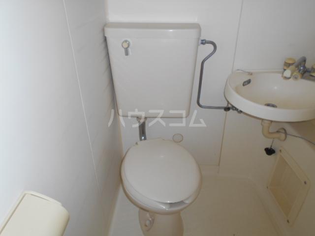 昭和記念荘 102号室のトイレ
