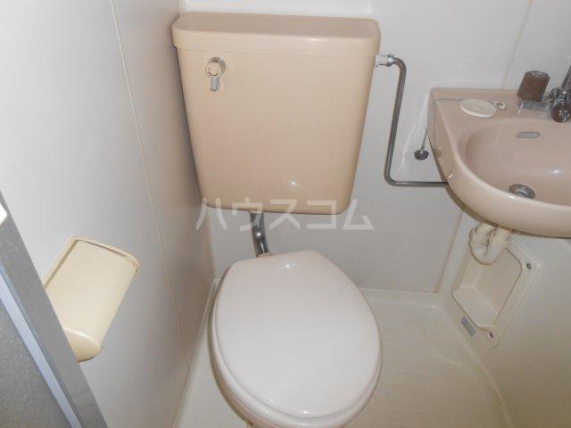 RX戸塚 405号室のトイレ