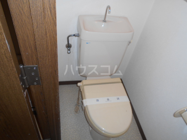エレガンス 302号室のトイレ