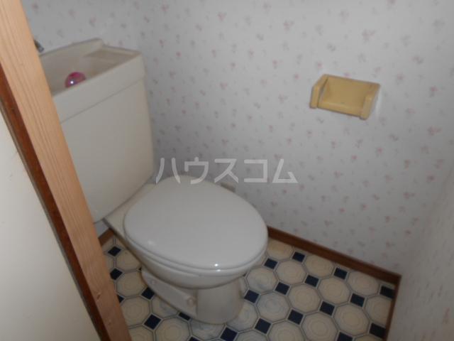 小杉貸家のトイレ