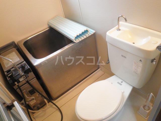 ヤングハウス立山 103号室のトイレ