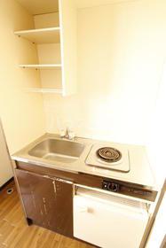 ドルフィン鎌倉Ⅱ 204号室のキッチン