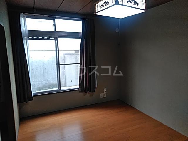 ハイツ南平台 A号室のベッドルーム
