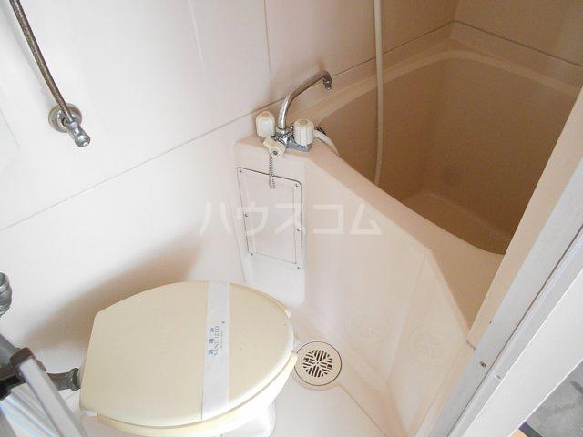 松山コーポ 201号室の風呂