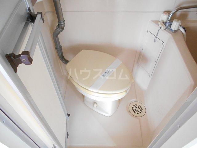 松山コーポ 201号室のトイレ