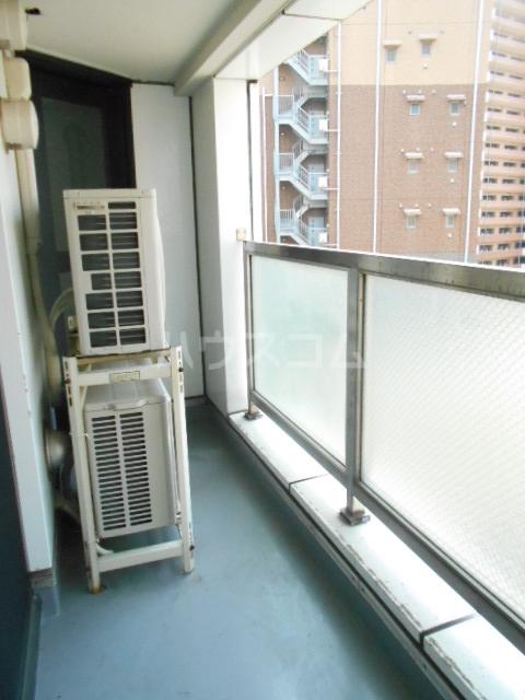 オードリービル 603号室のバルコニー
