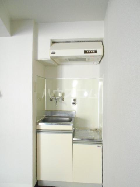 オードリービル 603号室のキッチン