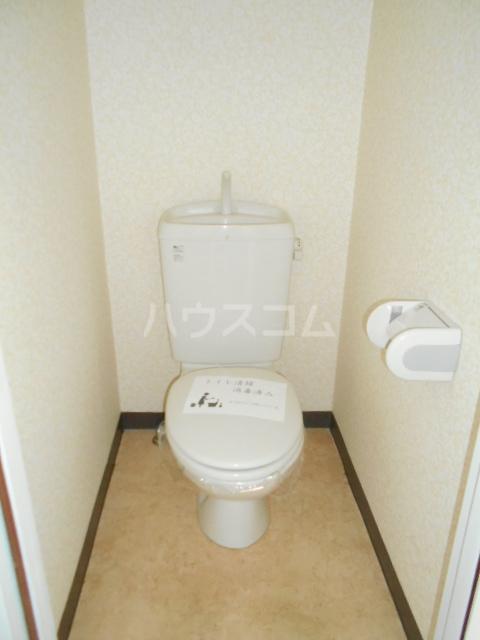 オードリービル 603号室のトイレ