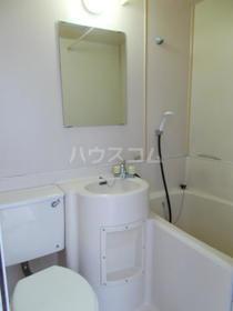 大清ハイツ 202号室の洗面所